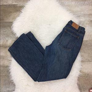 J. Crew Straight Leg Blue Jeans Size 2